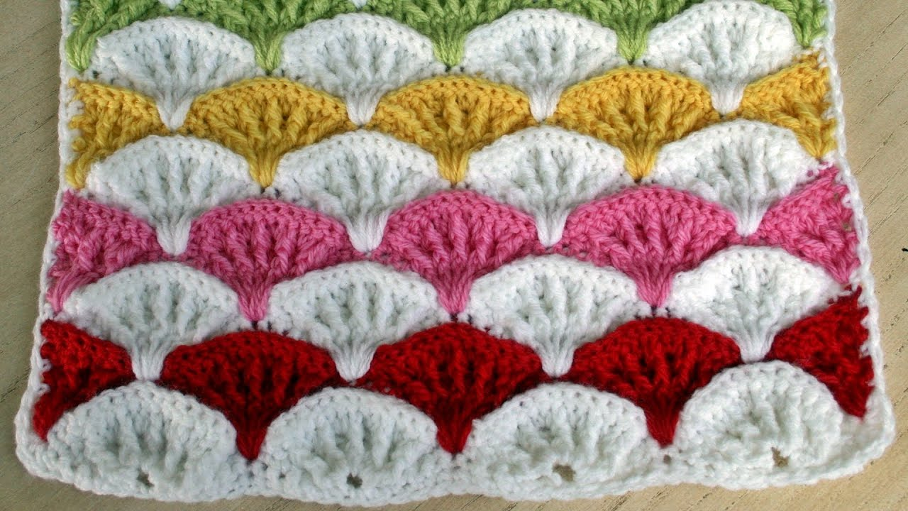 Free Printable Crochet Patterns : Paintbrush Pillow & Afghan Crochet Pattern - YouTube