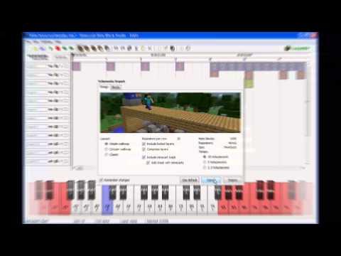 Как создать мелодию в майнкрафте? (Minecraft Note Block Studio)