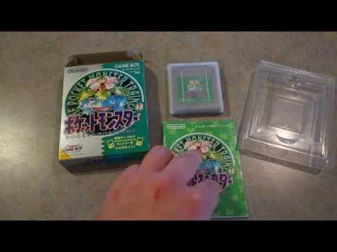 Pocket Monsters Green Version Unboxing