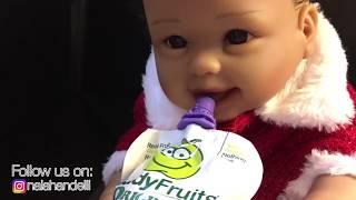 Bad Baby Santa Claus vs The Magician Elli ! Turns Naiah into a REAL Bad Baby