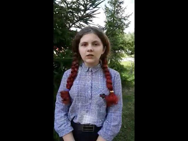 Изображение предпросмотра прочтения – АнастасияМотаева читает произведение «Заплаканная осень , как вдова...» А.А.Ахматовой