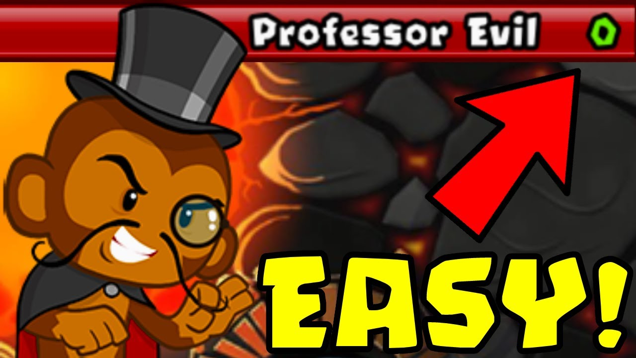How to Beat The NEW Professor Evil Challenge in BTD Battles | Week 54