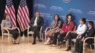 The President Speaks at the 2015 Tribal Nations Conference