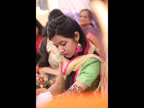 Punjabi wedding- Mehndi/Jago/sangeet Highlights 2017 |Abhi &
