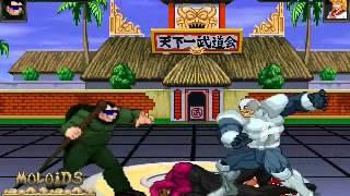 MFL   Prime Sentinel & Mole Man vs Avalanche & Supergirl