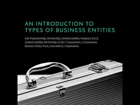 373-An Introduction to Types of Business Entities: Sole Proprietorship, Partnership, Limited...