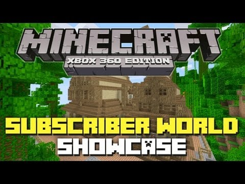 Minecraft Xbox 360: Subscriber World Showcase 4! (New Map w/ TU12 Seed!)