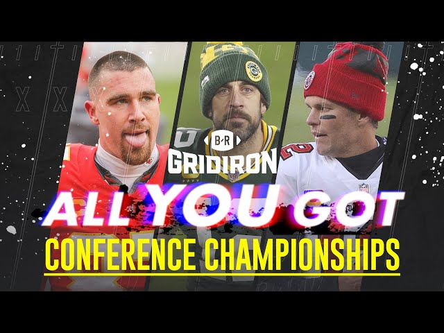 Tom Brady and Aaron Rodgers Mic'd Up for Championship Sunday | Best Moments from Title Games