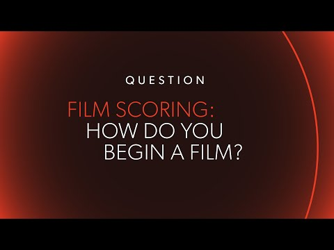 """How Do You Begin a Film?"" 