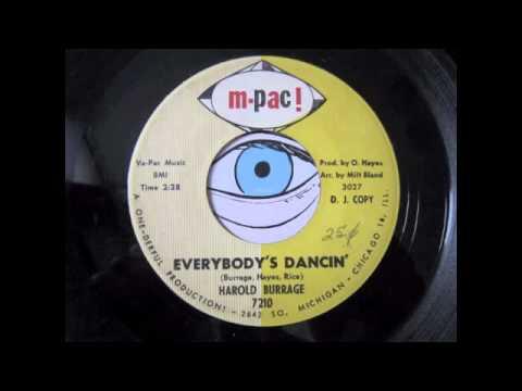 Harold Burrage Everybodys Dancin Thats A Friend