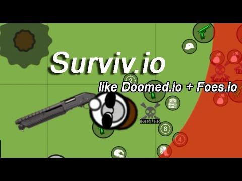 Surviv.io Survival Shooter Like Doomed.io + Foes.io | Выживай ио игра на выживание как Фоес + Думед