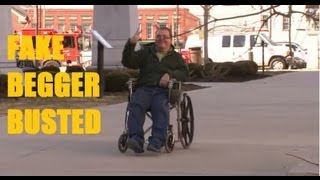 Fake Begger Makes $100,000 year - The Real way to earn money Panhandling!