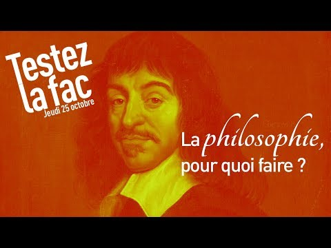 La philosophie : pour quoi faire ?