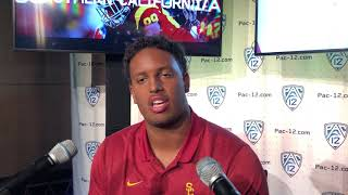 USC DE Christian Rector at PAC-12 Media Day