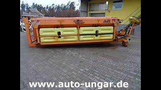 Youtube-Video Küpper Weisser Salzstreuer 6,5 m³ IMSSL E4465HFA 6m³ + Sole 3000Liter auf Abrollgestell