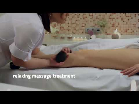 Shockwave Therapy and massage therapy with stone