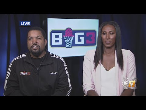 ice-cube-&-lisa-leslie-talk-big3-basketball-with-cbs-11