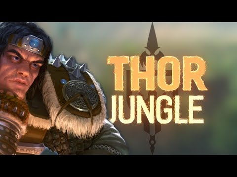 THOR RANKED JUNGLE: CONFIRMED JUNGLE MAIN NOW?!? - Incon - Smite