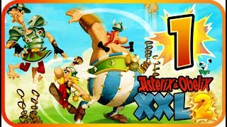 Asterix & Obelix XXL 2 Walkthrough Part 1 Remaster (PS4, XB1, PC, Switch) Lutetia