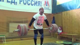 Klokov Dmitry - Cross fit - Dead lift 225 x 10
