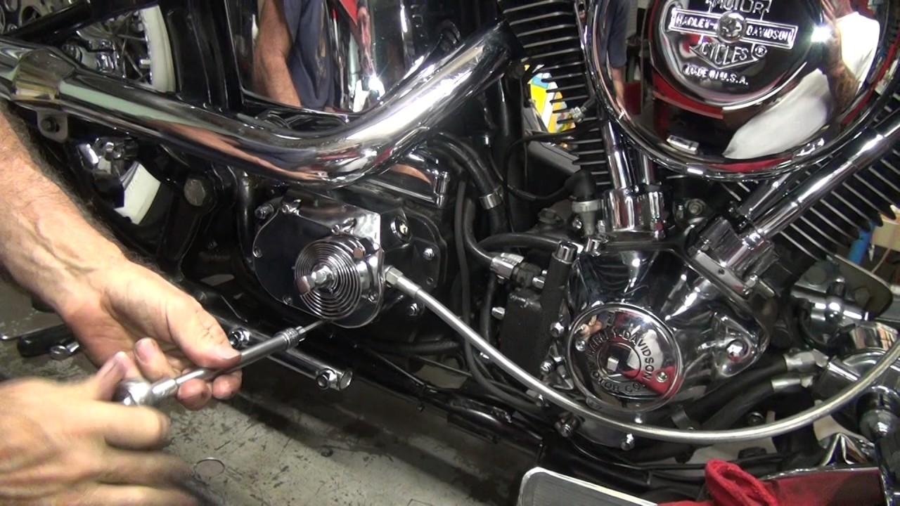 1989 Softail 102 5 Speed Kicker Install Fxst Flst Harley