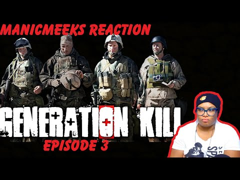"Seriously...Just Make It a Drinking Game  | Generation Kill Episode 3 ""Screwby"" Reaction!"