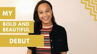 My Bold And Beautiful Debut BTS | Nia Sioux