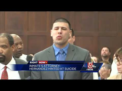 Attorney says one Hernandez's suicide notes left for inmate