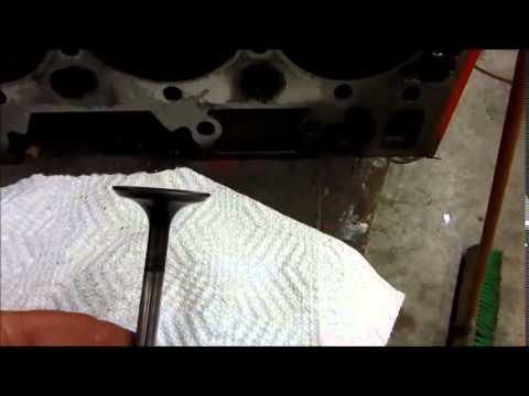Stuck exhaust valve