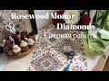 78. Готовая работа Diamonds от Rosewood Manor. Вышивка одиночных крестиков/закрепление нити.