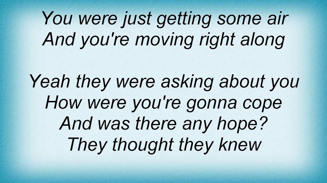 Something is moving lyrics