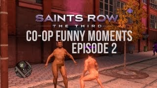 Saints Row 3 Co-op | Funny Moments | Episode 2