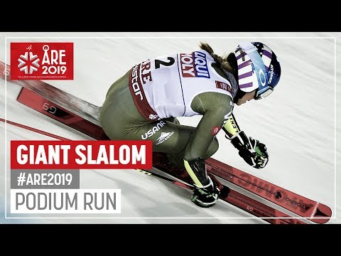 Mikaela Shiffrin | Bronze Medal | Ladies' Giant Slalom | Are | FIS World Alpine Ski Championships