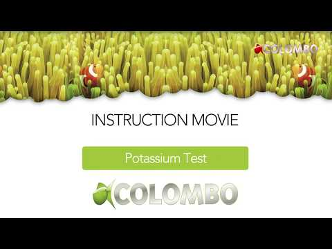 Colombo Marine Potassium test (Colour 2)