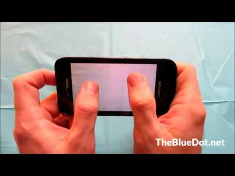 Best Verizon Phones  Samsung Galaxy S Fascinate i500 Review