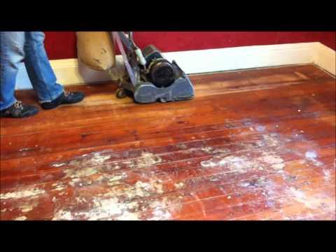Refinishing Wood Floors Part 2