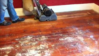 Refinishing Wood Floors Part 2