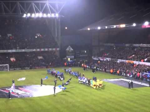 Ipswich Town v Arsenal, Carling Cup Semi Final Entrance