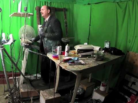 Let's Paint TV live via Skype @ Museum of Contemporary Art Australia