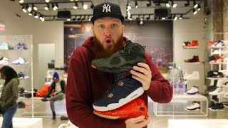 SEARCHING for LIMITED SNEAKERS at the JORDAN STORE in CHICAGO!!!!