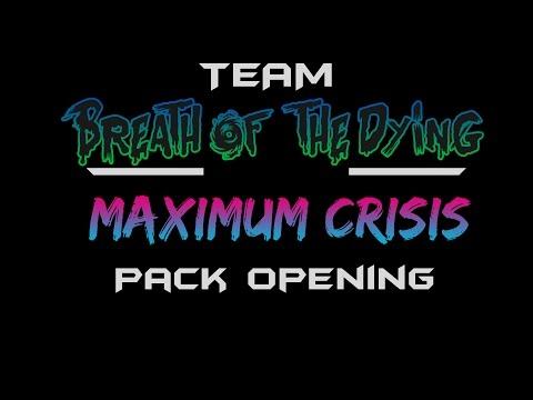 6x Maximum Crisis Box Opening!