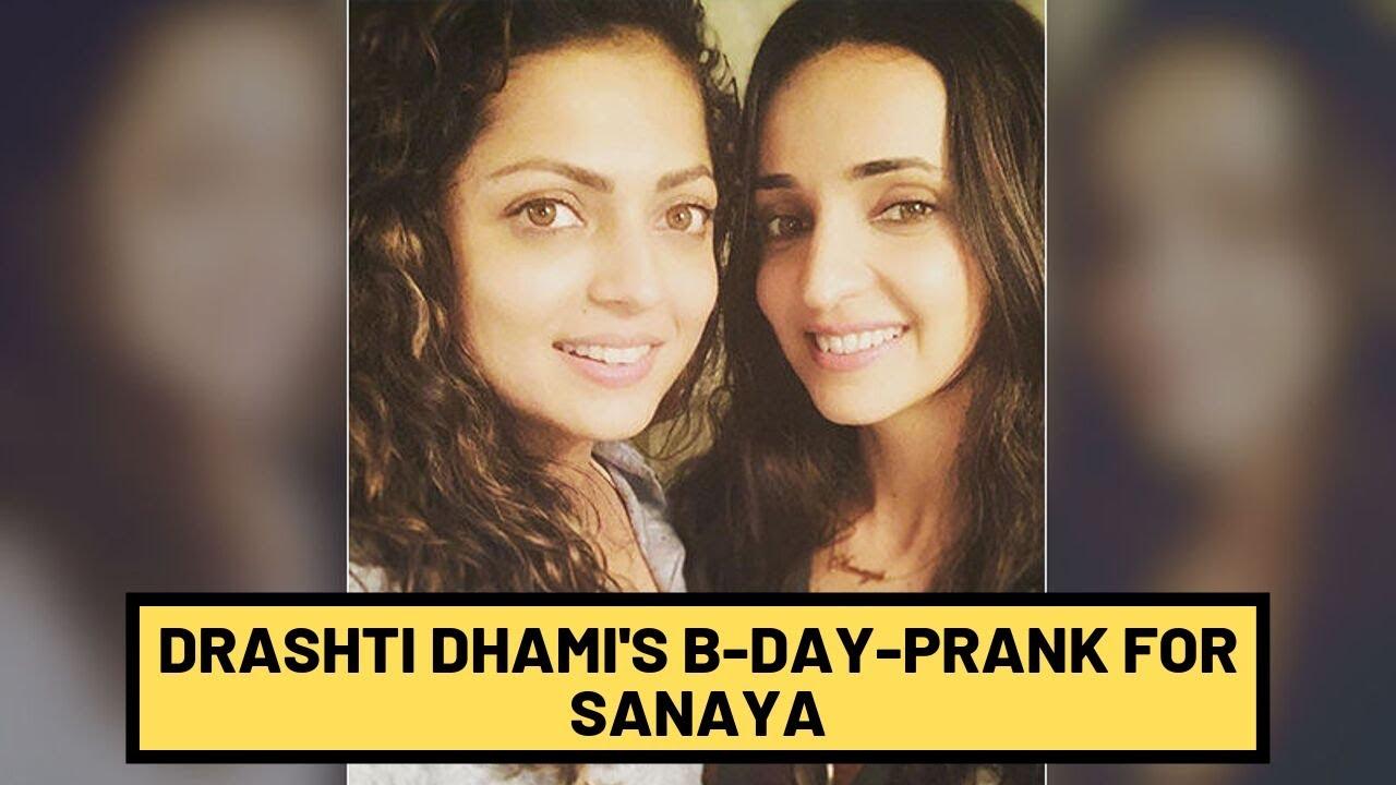 Drashti Dhami's Wish For BFF Sanaya Irani  Involves A Hilarious Snake Prank | TV | SpotboyE