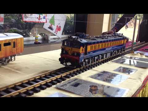 WCAM3 loco working model running on G scale track