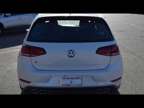 2018 Volkswagen Golf R 2.0T w/DCC & Navigation