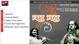Raag Rang.       Kadri Gopalnath &Pravin Godkhindi.