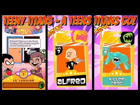 Teeny Titans - A Teen Titans Go-Get ALFRED and KILLER CROC-The Justice League Recruitment office-23