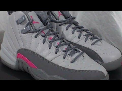 daddb75fe79 Air Jordan 12 retro Wolf Grey Vivid Pink