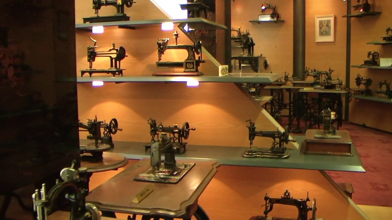 IMCA/GLOBAL. Antique sewing machine museum in Haarlem, the ...