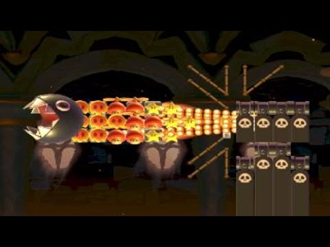 Chomp-Blaster Stronghold (v1.3) by Gilmore 一SUPER MARIO MAKER一 No Commentary