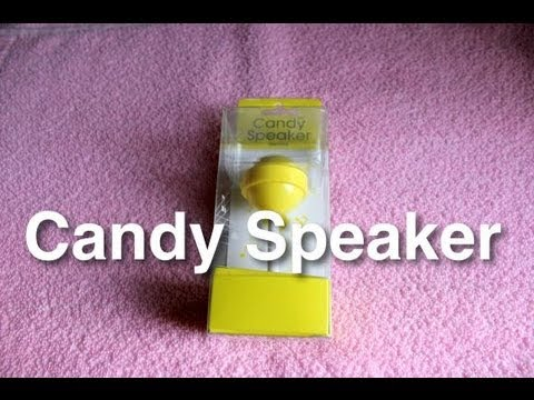 Candy portable speaker